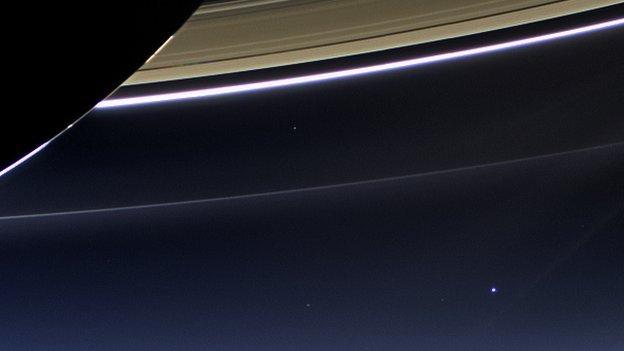 Fotos: Cómo se ve la Tierra desde Saturno