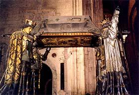 ¿Dónde se encuentran los restos de Cristóbal Colón?