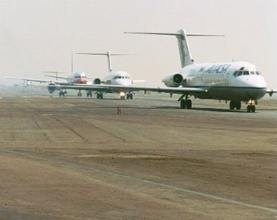 Aerolíneas que prevén cancelar vuelos por el Popo