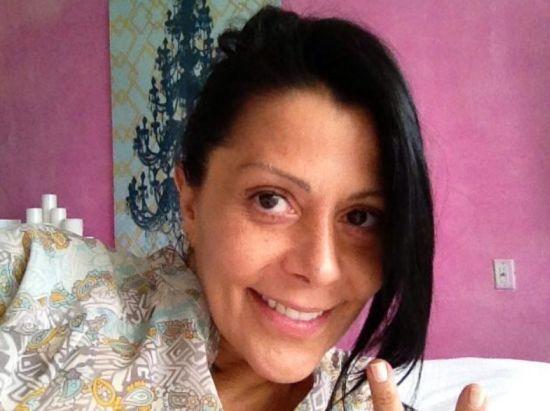 Foto de Alejandra Guzmán al natural sin maquillaje