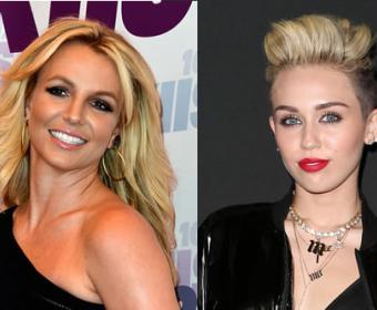 Miley Cyrus y Britney Spears hacen dueto