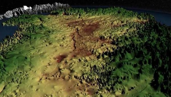 Insólito: Hallan un cañón bajo los hielos de Groenlandia