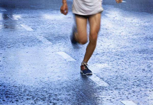 Recomendaciones para correr bajo la lluvia