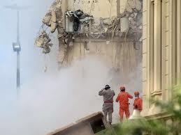 Derrumbe de un edificio en Brasil deja seis muertos