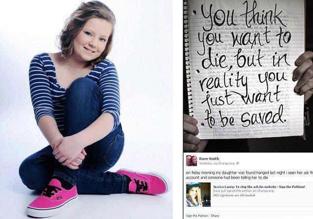 Adolescente víctima de cyber bullying se suicida