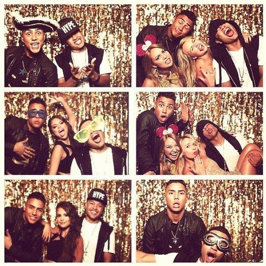 Fotos: Justin Bieber en la fiesta de Selena Gómez