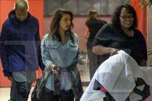 Foto de Kim Kardashian junto a su hija North West