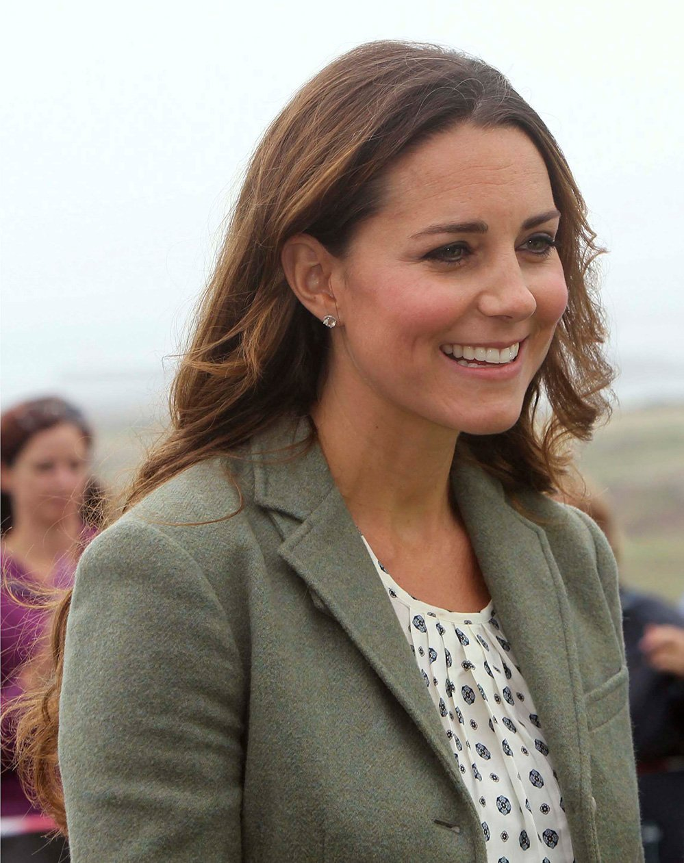 Reaparición espectacular de Kate Middleton - Fotos