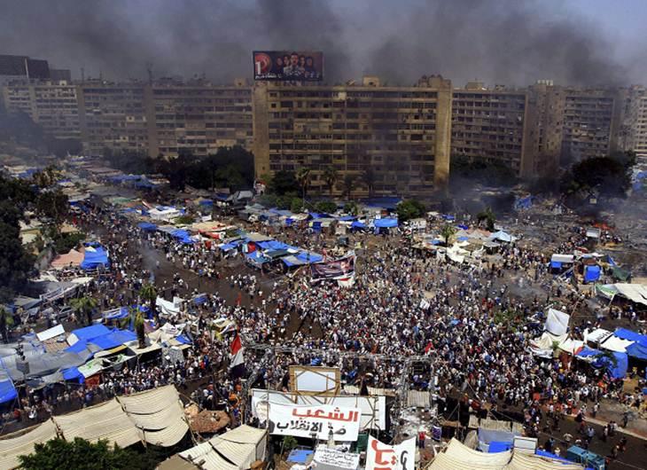 Disturbios en Egipto deja 525 personas muertas