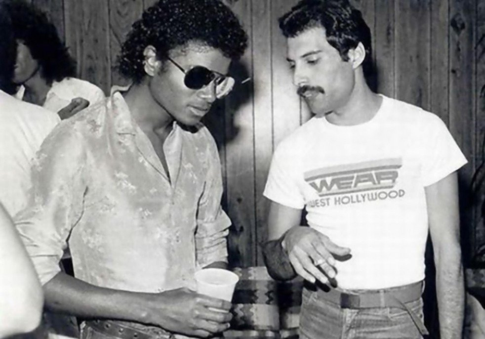 Dueto entre Michael Jackson y Freddie Mercury