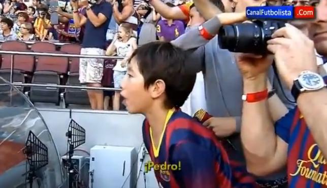 Video: Gerard Piqué hace llorar a un niño