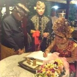 Sherlyn y Gerardo Islas se casaron en Bali