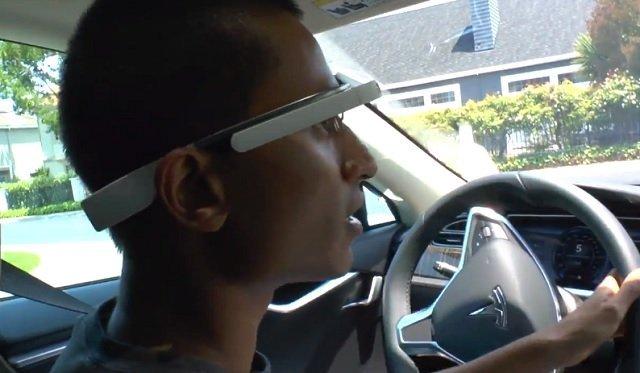 Video: Cómo sería conducir usando los Google Glass