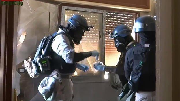 ¿En qué consiste el arsenal químico de Siria?