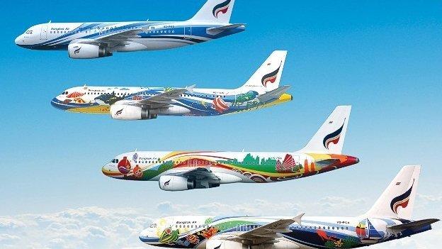 Fotos: Aviones con los diseños más llamativos