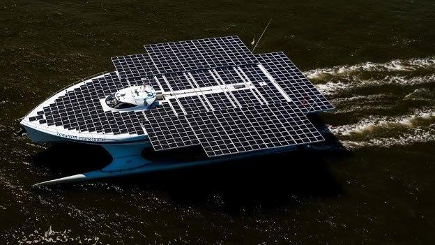 Éste es el barco solar más grande del mundo - Fotos