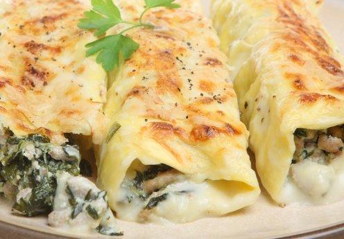Recetas para preparar los más ricos crepes y canelones