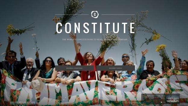 Google Constitute: programa online con las constituciones del mundo