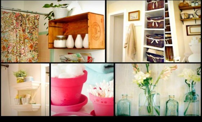 Ideas originales para decorar el baño