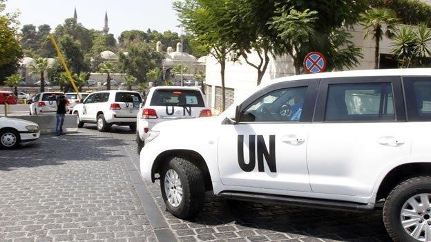 ¿Dónde están las armas químicas de Siria?