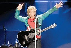 Espectacular show de Bon Jovi en el Foro Sol