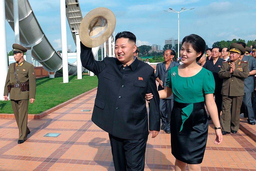 El líder norcoreano, Kim Jong Un, tiene una hija