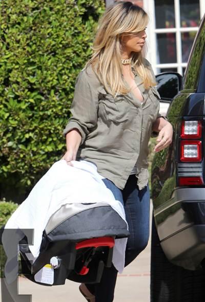 El nuevo look de Kim Kardashian luego de parir