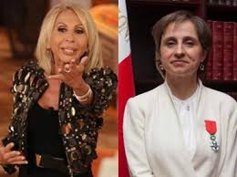 Video: la pelea entre Carmen Aristegui y Laura Bozzo