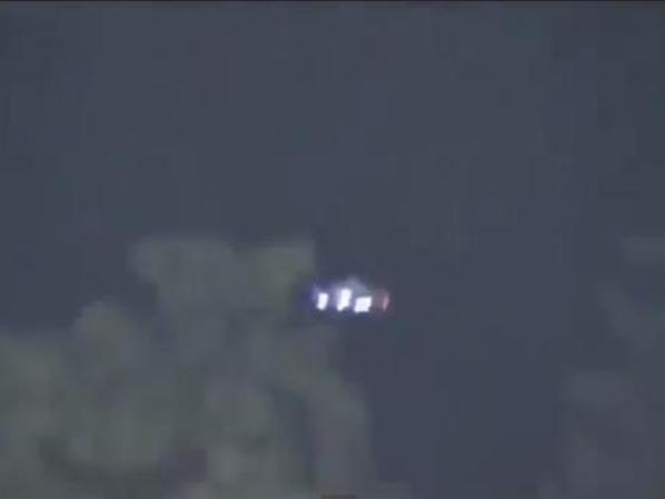 Video: avistaje de un OVNI durante partido de béisbol
