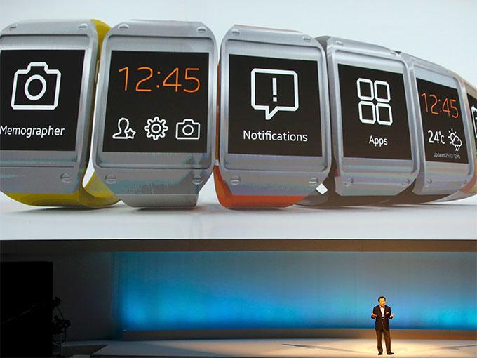 Fotos: así es Galaxy Gear el reloj inteligente de Samsung