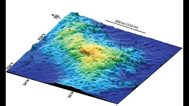 Hallan el volcán más grande de la Tierra