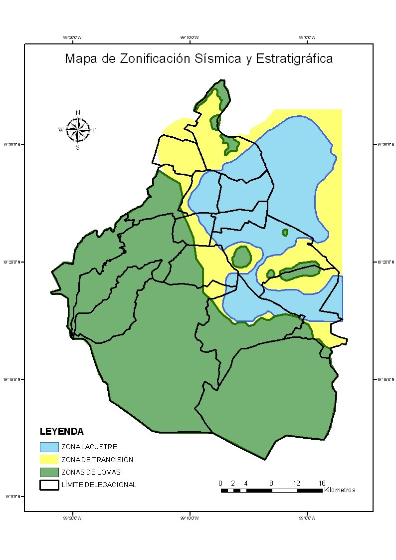 Zonas donde más se sienten los sismos