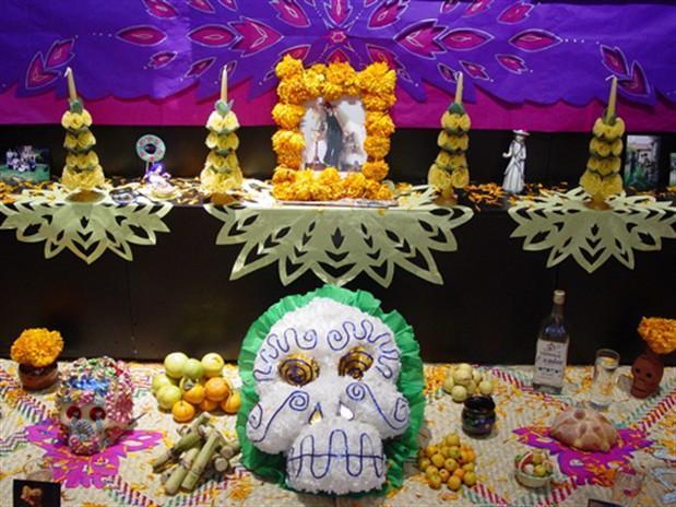 Cómo armar una Altar de Día de Muertos ecológico