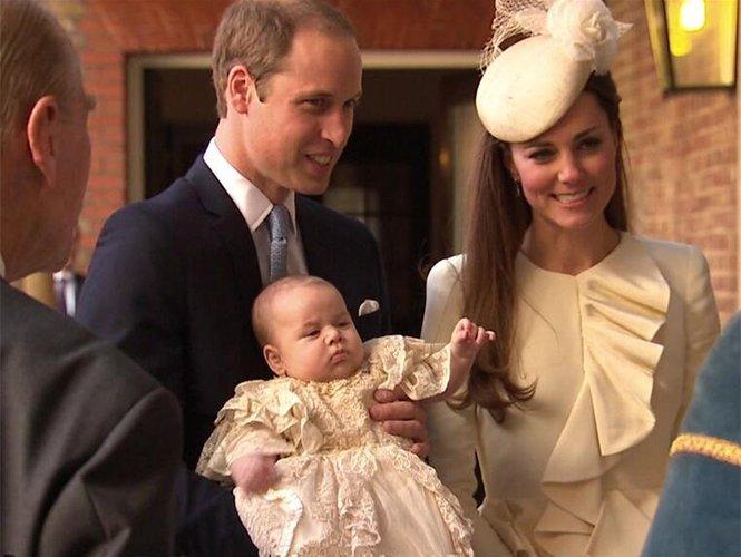 Fotos: el bautismo del príncipe Jorge