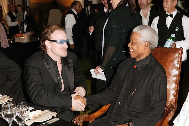 Canción de U2 para Nelson Mandela