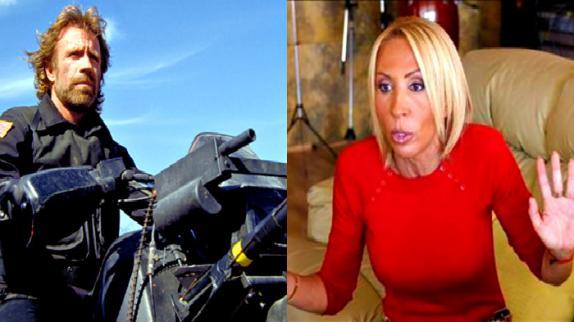 Video: el enojo de Chuck Norris con Laura Bozzo