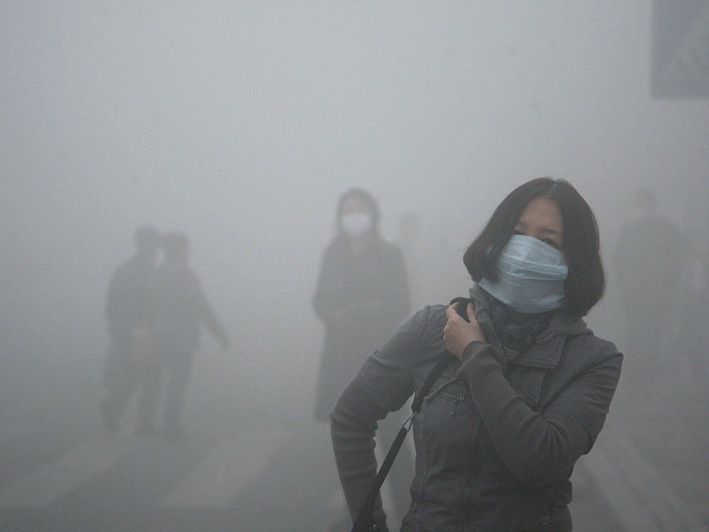 Alerta roja en China por contaminación