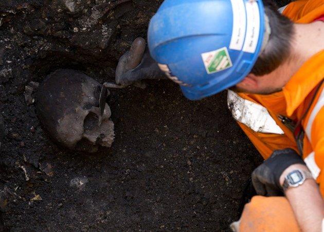 Ciencia: Hallan veinte cráneos romanos en Londres