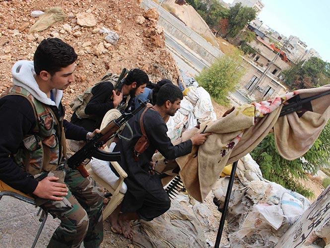 En qué consiste el 'juego de la muerte' que practican los francotiradores sirios