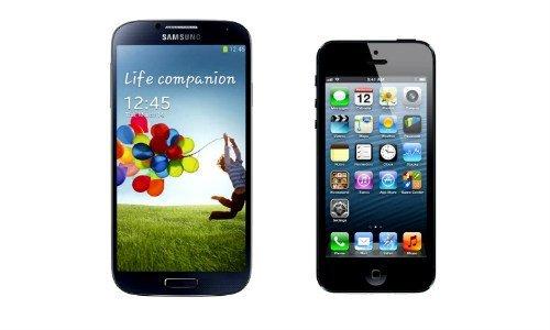 Cosas que puedes hacer con el Galaxy S4, pero NO con el iPhone 5S