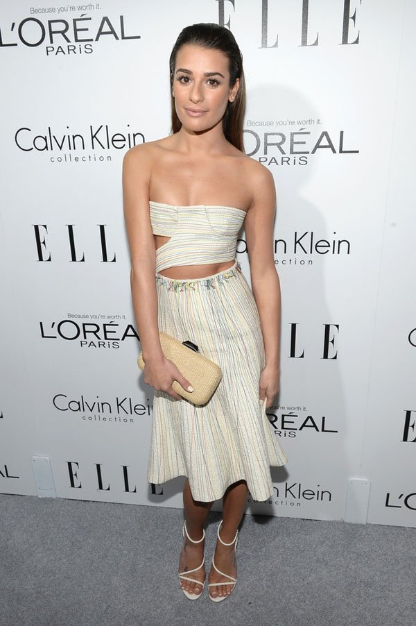 ¿Lea Michele padece anorexia? Foto