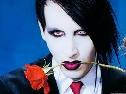 Foto imperdible de Marilyn Manson como nunca lo viste