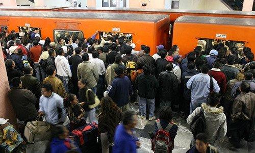 Estaciones del Metro con más usuarios por día