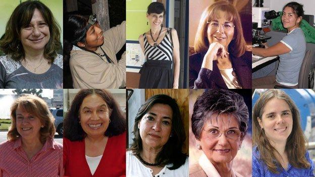 Mujeres científicas líderes en América Latina