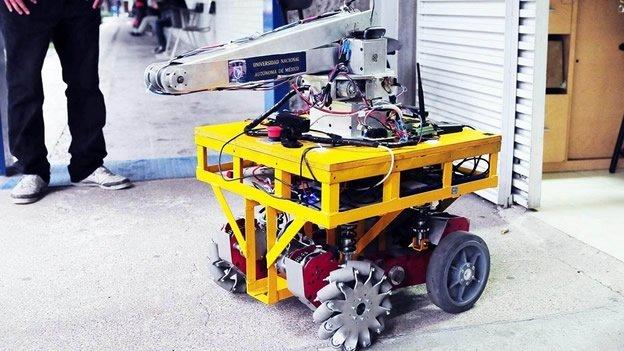 Mexicanos crean un robot que ayuda en desastres - Así funciona