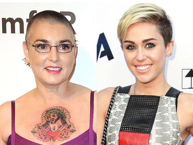 Explosiva carta de Sinéad O'Connor a Miley Cyrus