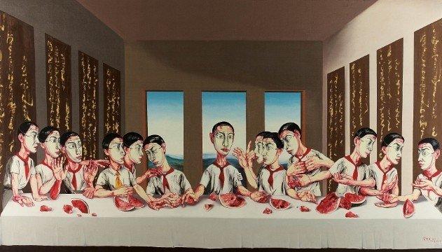 Subasta millonaria de la recreación china de 'La última cena'
