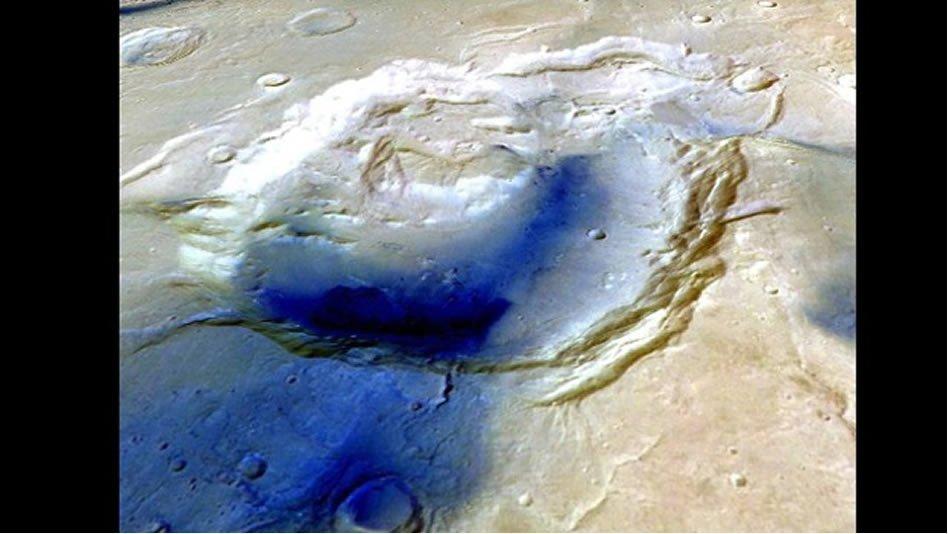 Hallan evidencia de agua y supervolcanes en Marte
