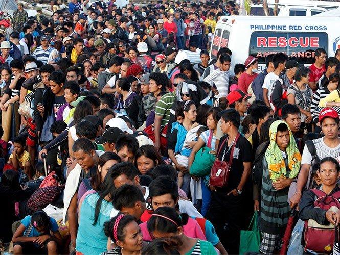 Son 13 millones los afectados por el tifón Haiyan en Filipinas