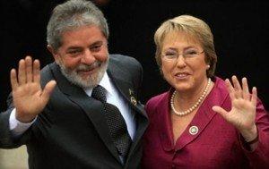Lula da Silva apoya a la candidata presidencial chilena Michelle  Bachelet